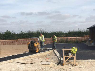 asphalt tarmac labouring plant hire